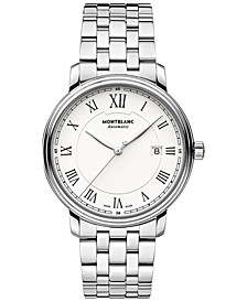Men's Swiss Automatic Tradition Stainless Steel Bracelet Watch 40mm 112610
