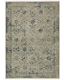 Karastan Titanium Esperance Seaglass Area Rug Collection