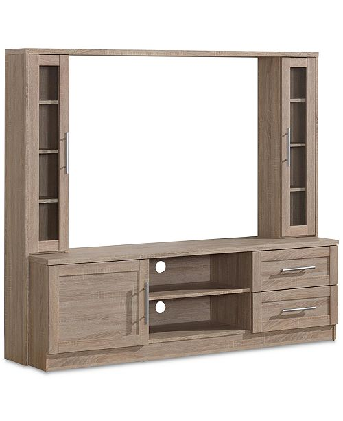 """RTA Products Techni Mobili Entertainment Center up to 50"""", Quick Ship"""