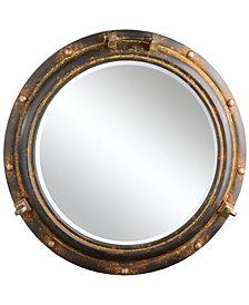 Round Metal Porthole Mirror