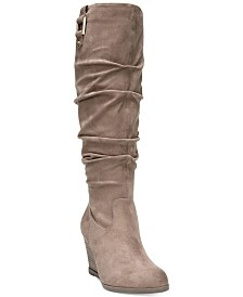 Dr. Scholl's Poe Wide Calf Tall Boots