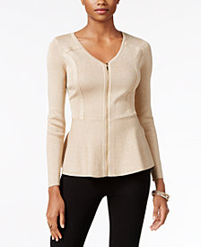 Thalia Sodi Peplum Sweater, Created for Macy's