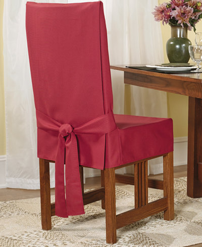 Sure Fit Short Dining Room Chair Slipcover - Slipcovers - Home - Macy\'s