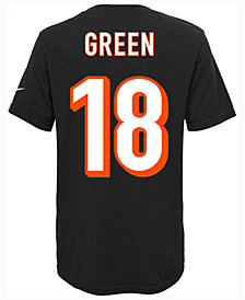 Nike A.J. Green Cincinnati Bengals Pride Player T-Shirt, Big Boys (8-20)
