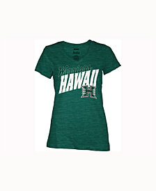 Pressbox Women's Hawaii Warriors Gander V-Neck T-Shirt