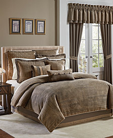 CLOSEOUT! Croscill Benson Queen 4-Pc. Comforter Set