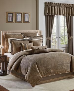 Croscill Benson Queen 4Pc Comforter Set Bedding