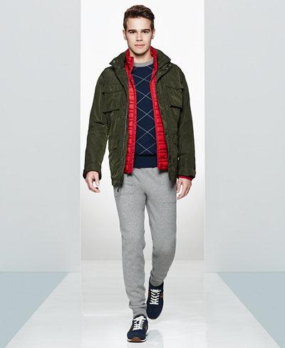 Tommy Hilfiger Men's Field Jacket, Quilted Vest, Argyle Sweater ... : tommy hilfiger quilted vest - Adamdwight.com