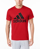 adidas Men s Badge of Sport Classic Logo T-Shirt 8588395fb121