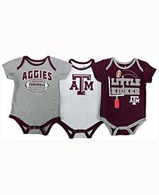 adidas Babies' Texas A&M Aggies 3 Points 3-Piece Creeper Set