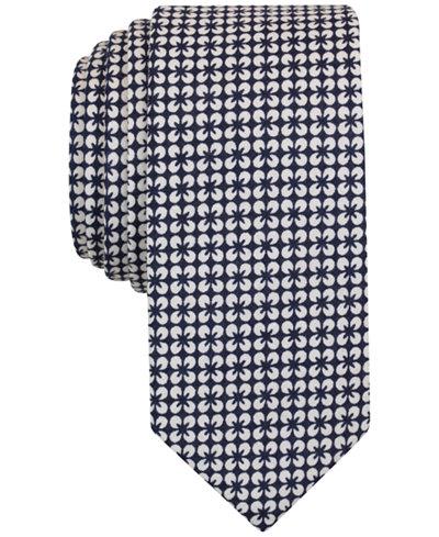 Original Penguin Men's Aline Floral Slim Tie