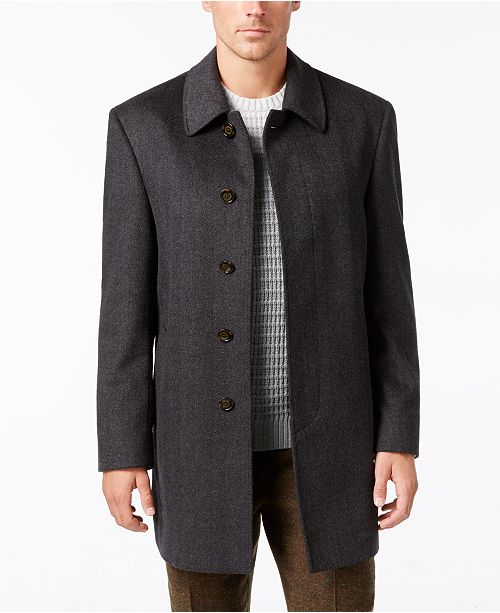 Lauren Ralph Lauren Jake Solid Wool-Blend Overcoat