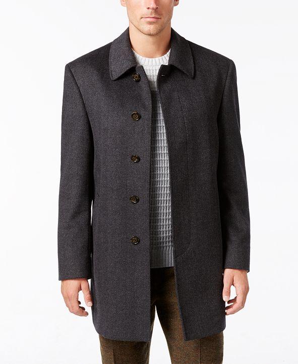 Lauren Ralph Lauren Jake Solid Wool-Blend Overcoat