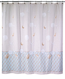 Avanti Seaglass Shower Curtain