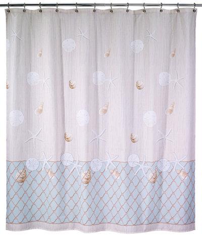 Avanti Seaglass Shower Curtain