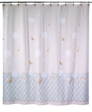 seaglass shower curtain bedding