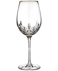 Stemware, Lismore Essence Gold Wine Glass