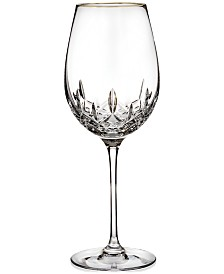 Waterford Stemware, Lismore Essence Gold Wine Glass