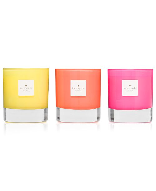kate spade new york Live Colorfully Candle Trio
