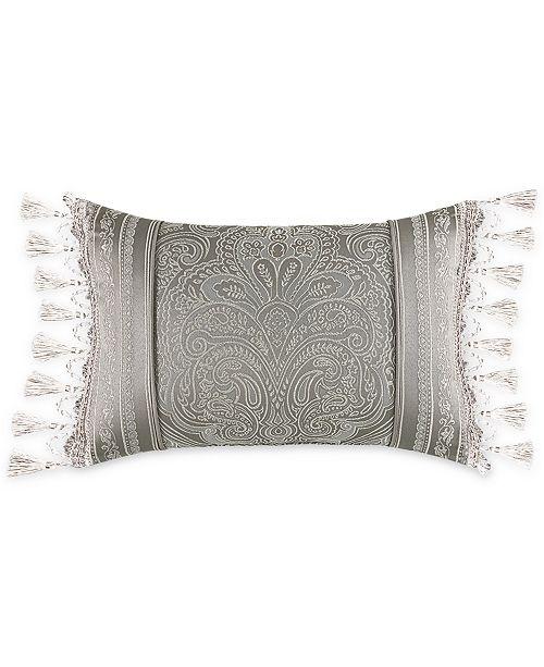 "J Queen New York J. Queen New York Corinna 15"" x 21"" Boudoir Decorative Pillow"