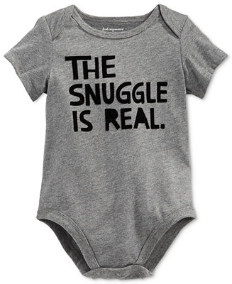 0d960fa88c1c First Impressions Baby Boys   Girls The Snuggle Is Real Bodysuit ...