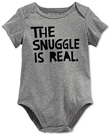 First Impressions Baby Boys & Girls The Snuggle Is Real Bodysuit, Created for Macy's