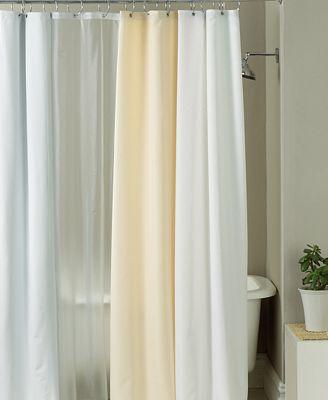 closeout! charter club bath accessories, shower curtain fabric