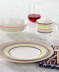kate spade new york Dinnerware, Hopscotch Drive Taupe Collection