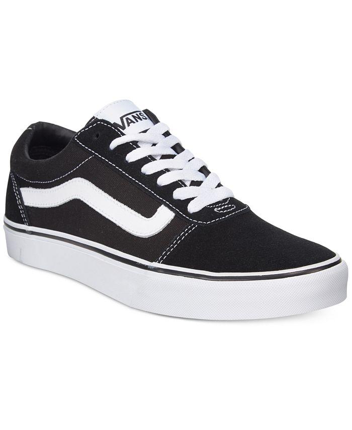 Vans Men's Ward Sneakers & Reviews - All Men's Shoes - Men - Macy's