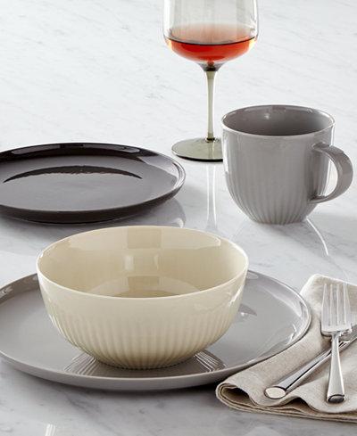 hotel collection modern dinnerware created for macys - Modern Dinnerware