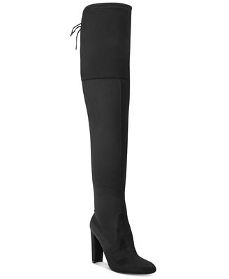 CHARLES by Charles David Sycamore Over-The-Knee Stretch Boots
