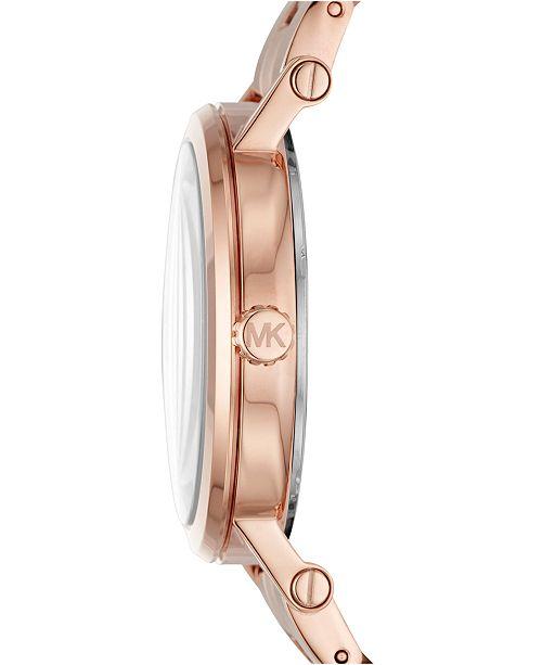 fe72c02a6eab Michael Kors. Women s Norie Rose Gold-Tone Stainless Steel Bracelet Watch  38mm MK3561. 8 reviews. main image  main image  main image ...