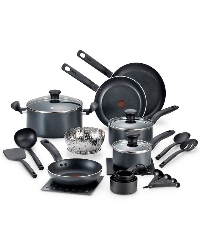 T-Fal - 18-Pc. Cookware Set