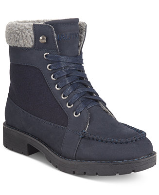 Nautica Thunder Bay Cold Weather Lace-Up Boots - Boots