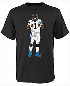 Outerstuff Kids' Cam Newton Carolina Panthers Celebration Pose T-Shirt, Big Boys (8-20)