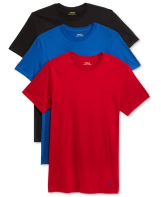 Image of Polo Ralph Lauren Crew Neck Undershirt 3-pack