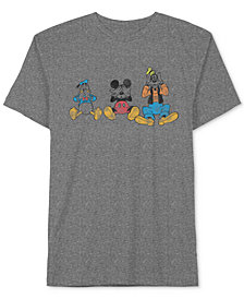 Donald Duck Mickey Mouse & Goofy Men's T-Shirt by Jem