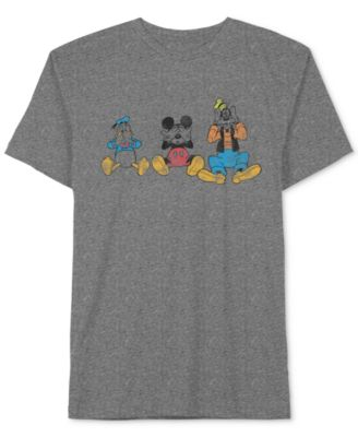 Jem Menu0027s Disney Donald Duck, Mickey Mouse U0026 Goofy Graphic Print T Shirt