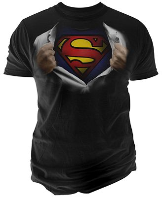 Changes Men's Superman Body T-Shirt