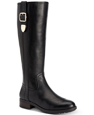 COACH Easton Wide Calf Tall Riding Boots
