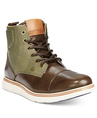 Tommy Hilfiger Men's Ferguson Chukka Boots - All Men's Shoes - Men ...