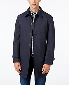 Tommy Hilfiger Men's Sharkskin Raincoat