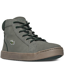 Lacoste Big Boys' Explorateur Mid Casual Sneakers from Finish Line