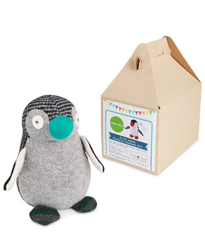 Cate & Levi Penguin DIY Stuffed Animal Kit, Only at