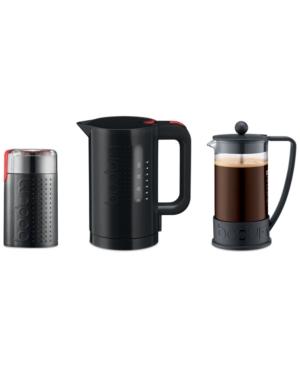 Bodum 3-Pc. Grind, Boil, Brew Value Set