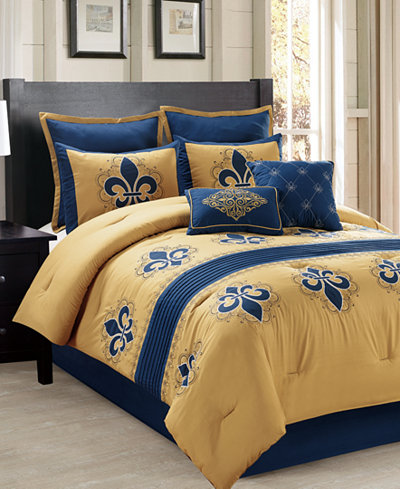 CLOSEOUT! Toulouse 8-Pc. Comforter Set, Created for Macy's