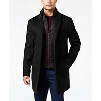 Deals on Michael Kors Mens Water-Resistant Overcoat