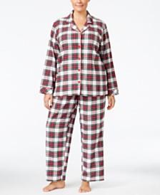 Flannel Pajamas: Shop Flannel Pajamas - Macy's