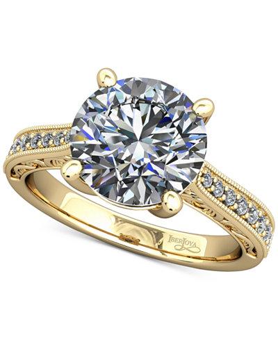 Diamond Artisan Mount Setting (1/6 ct. t.w.) in 14k Gold