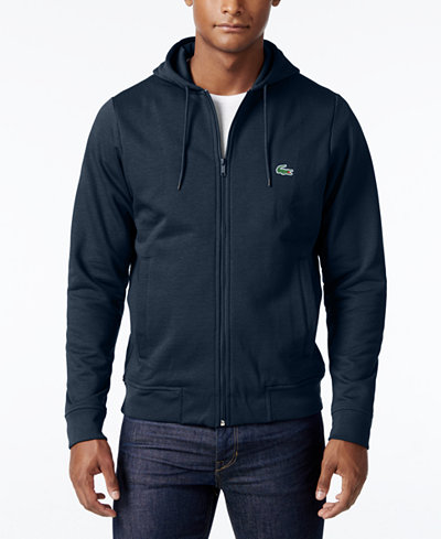 lacoste men 39 s full zip hoodie a macy 39 s exclusive style sweaters men macy 39 s. Black Bedroom Furniture Sets. Home Design Ideas